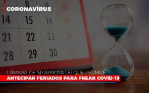 Camara De Sp Aprova Lei Que Permite Antecipar Feriados Para Frear Covid 19 Notícias E Artigos Contábeis - Pontual Contadores & Associados
