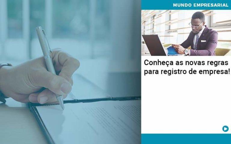 Conheca As Novas Regras Para Registro De Empresa - Pontual Contadores & Associados