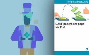 Darf Podera Ser Pago Via Pix - Pontual Contadores & Associados